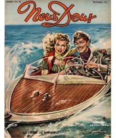 L'hebdomadaire Nous Deux n° 167 - Année 1950 : La course au bonheur…