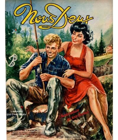 L'hebdomadaire Nous Deux n° 209 - Année 1951 - Pêche miraculeuse
