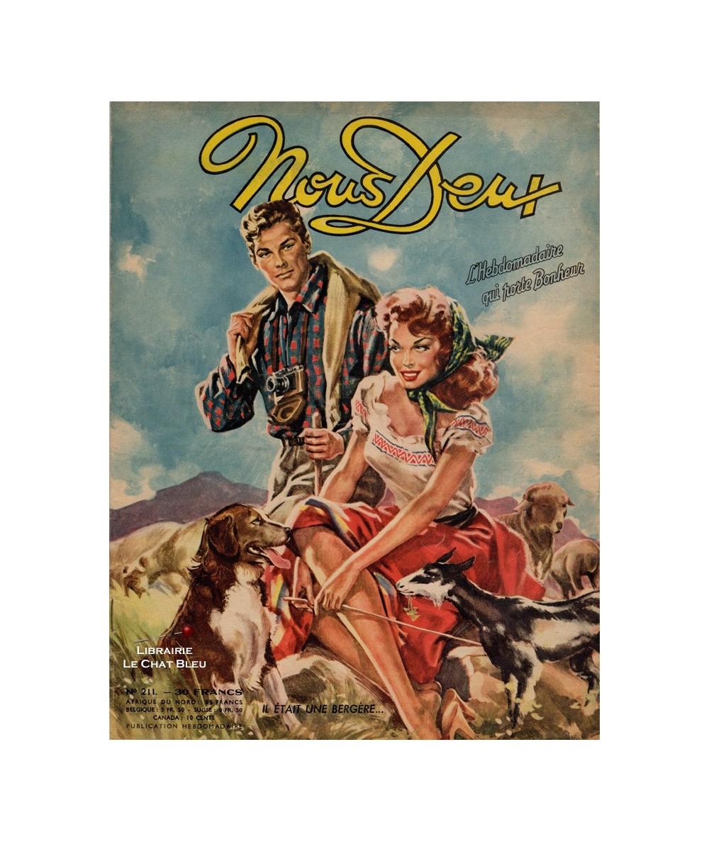 Nous Deux n° 211 paru en 1951 : Il était une bergère…