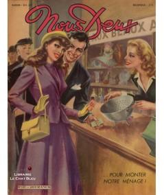 L'hebdomadaire Nous Deux n° 107 - Année 1949 - Pour monter notre ménage !