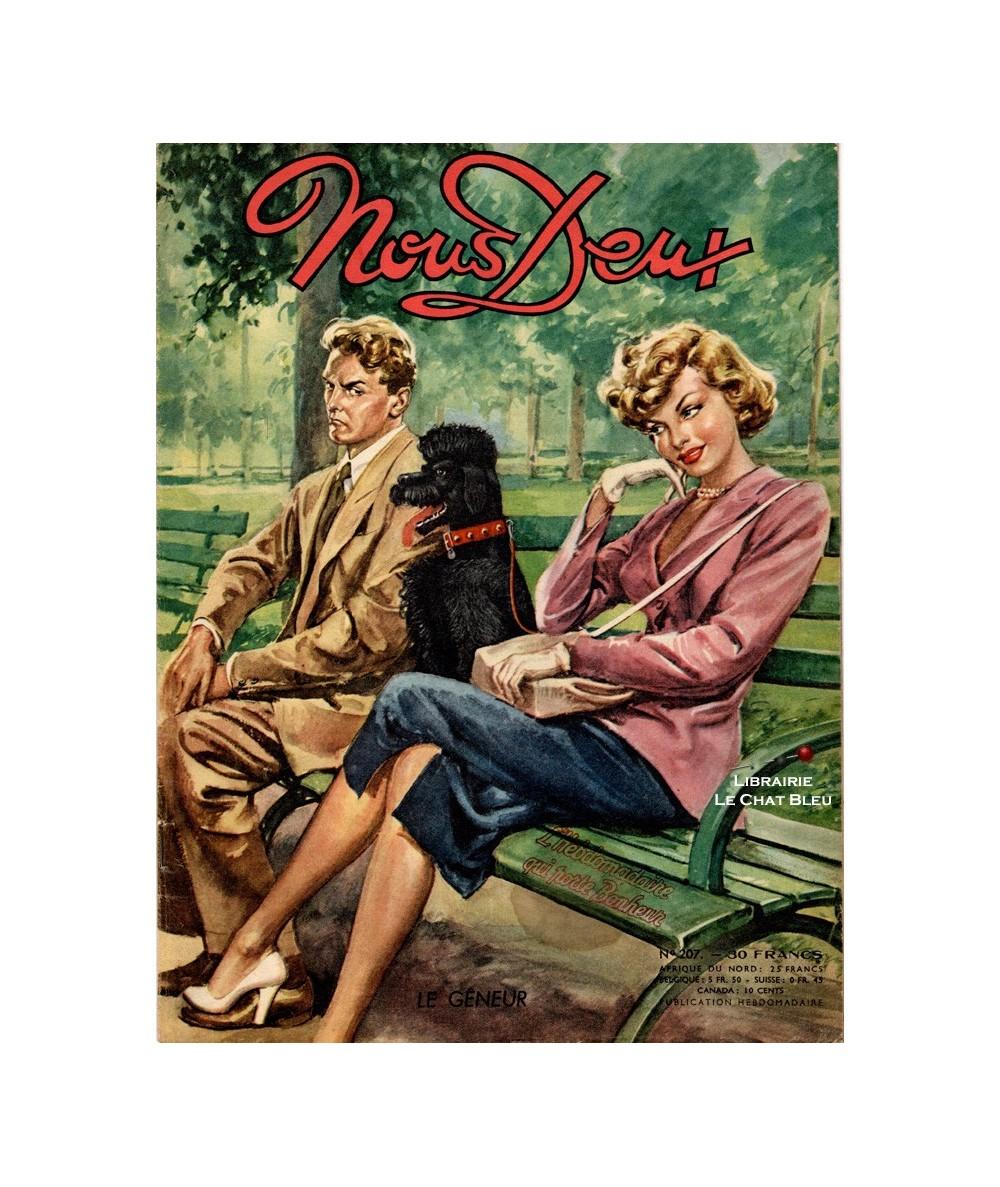 Nous Deux n° 207 paru en 1951 : Le gêneur