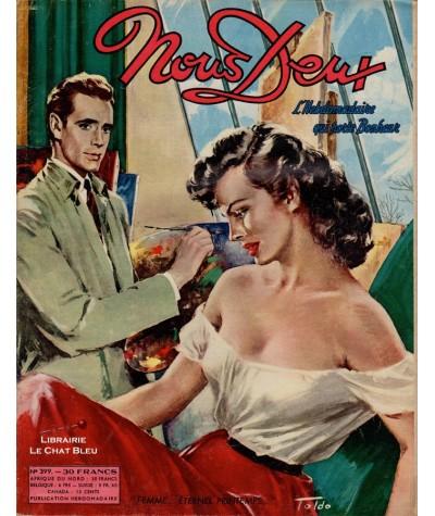 Magazine Nous Deux n° 399 paru en 1955