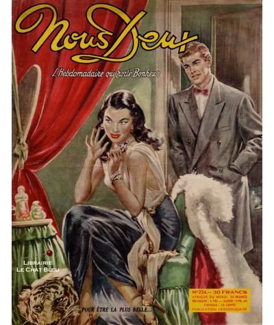 Magazine Nous Deux n° 234 paru en 1951