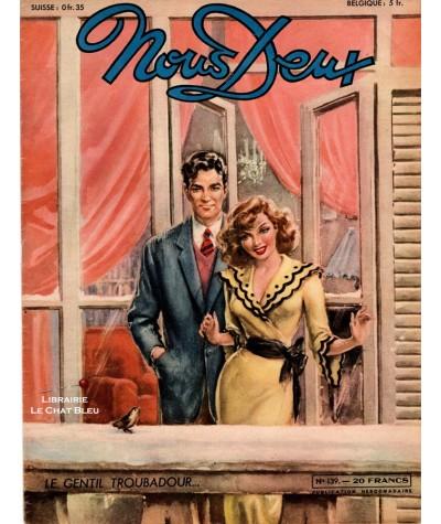 Magazine Nous Deux n° 139 paru en 1950