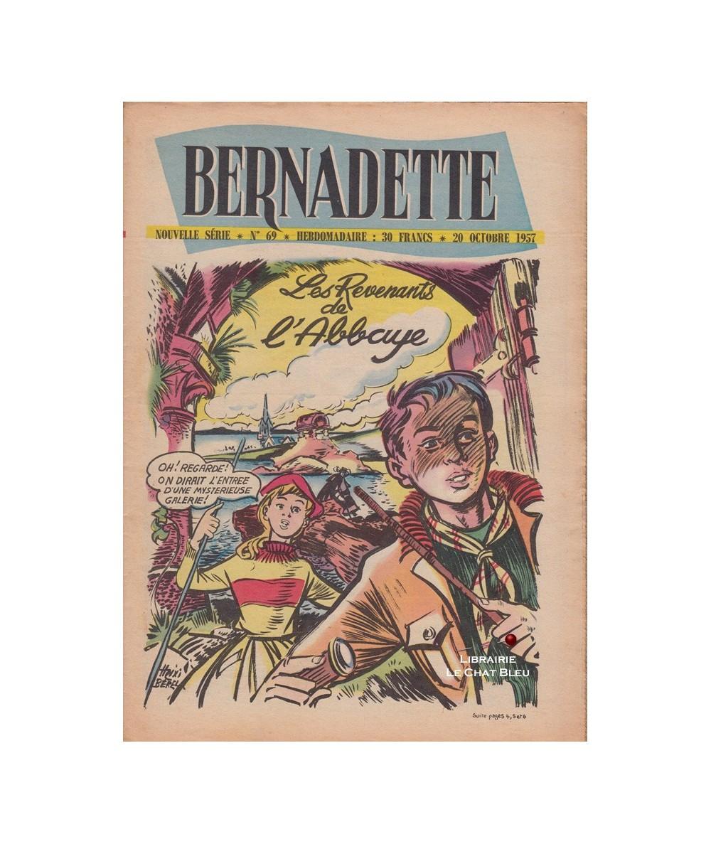 Bernadette N° 69 du 20 octobre 1957 : Les Revenants de l'Abbaye (Mixi Bérel)