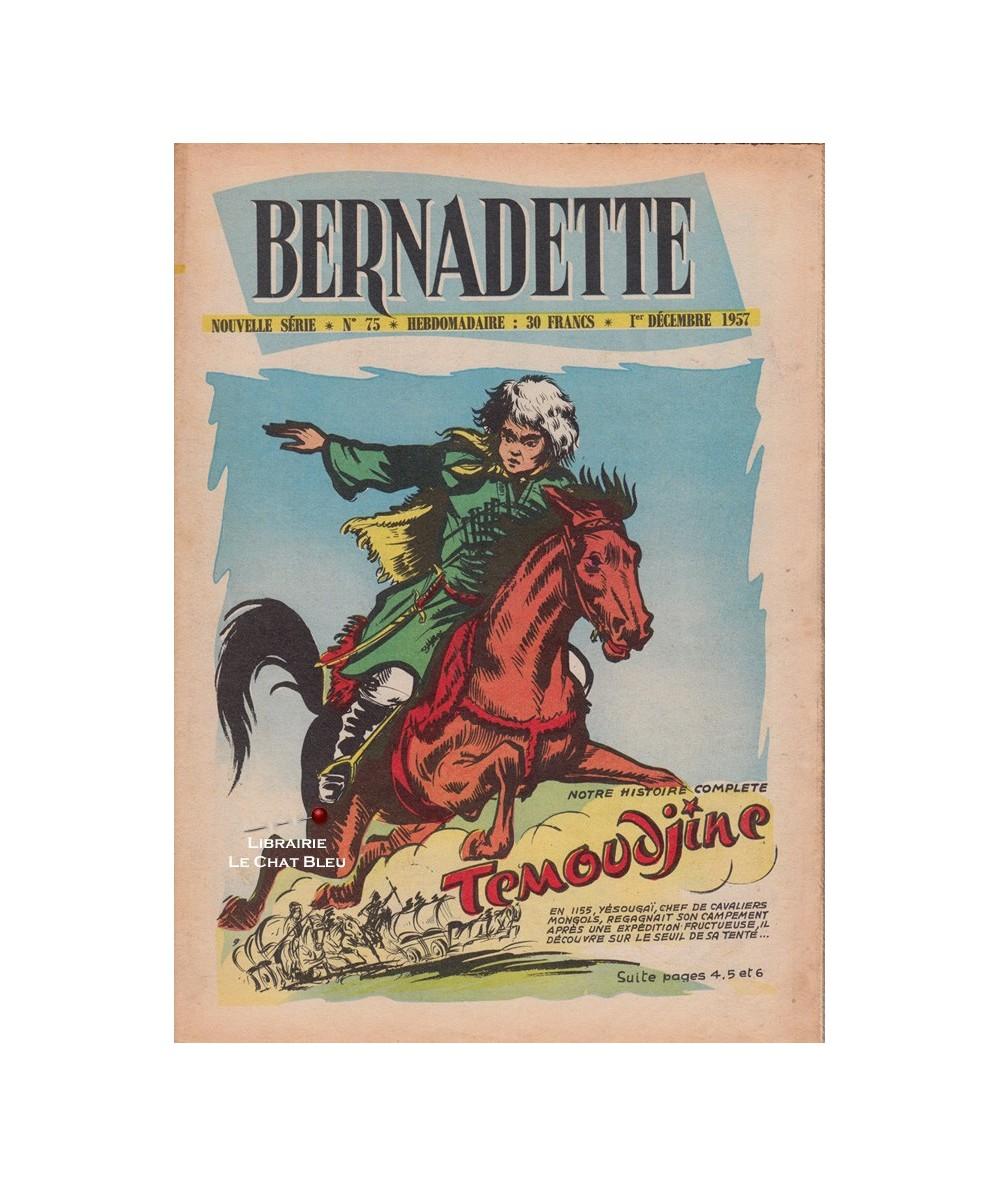 Bernadette N° 75 du 1er décembre 1957 : Témoudjine