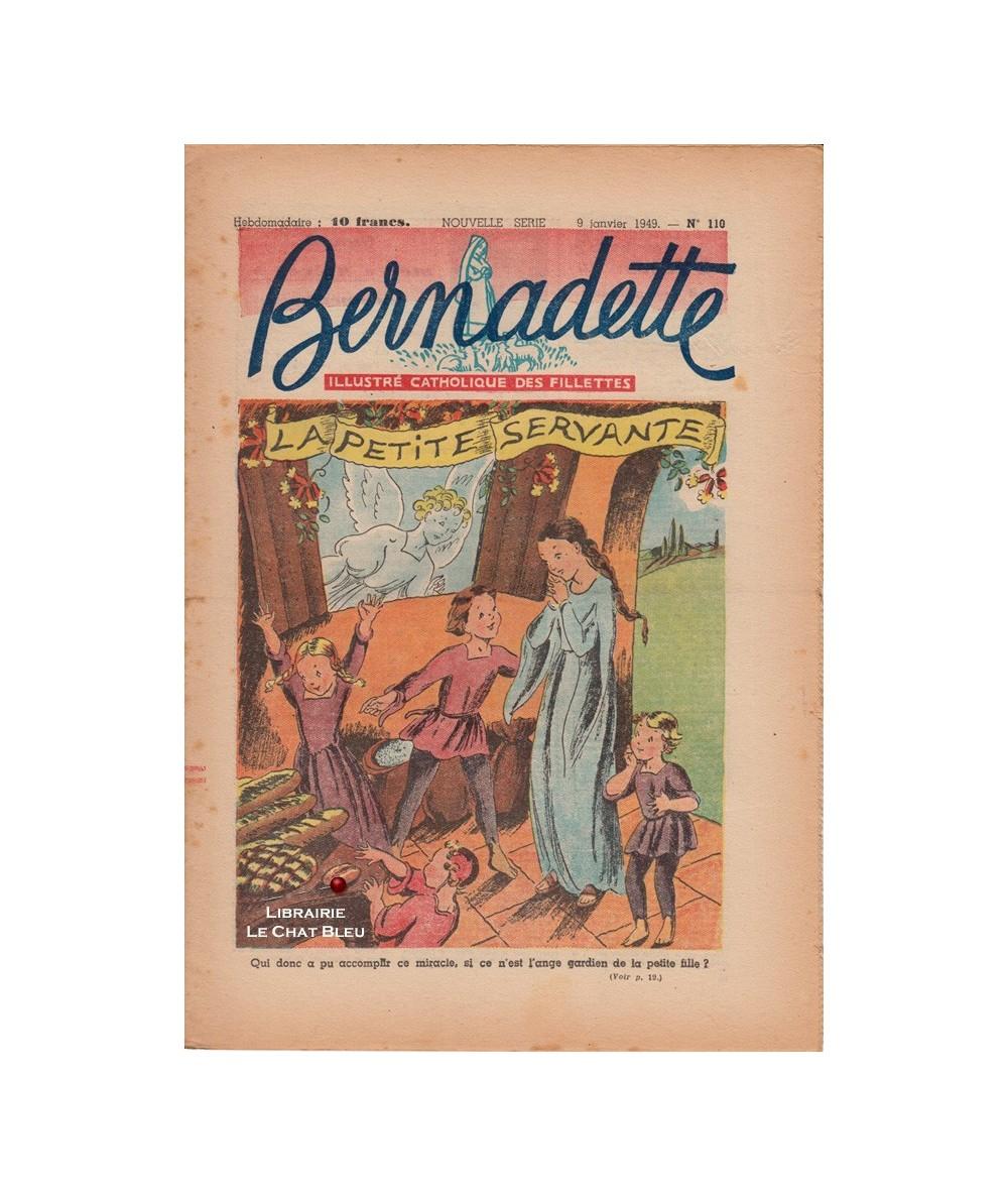 Bernadette N° 110 du 9 Janvier 1949 : La petite servante