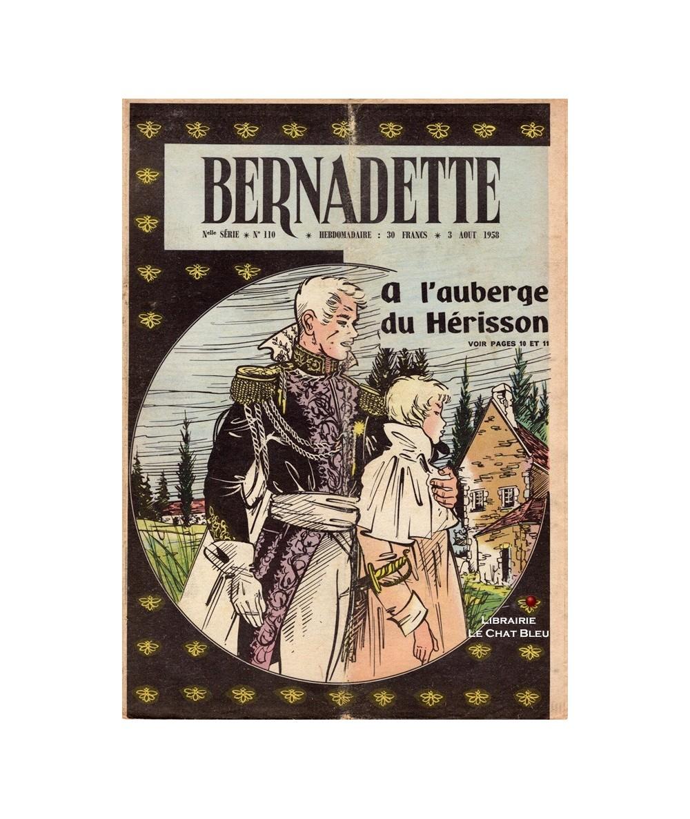 Bernadette N° 110 du 3 août 1958 : A l'auberge du Hérisson