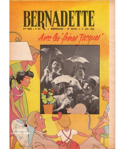 Revue Bernadette N° 102 du 8 juin 1958 : Avec les frères Jacques
