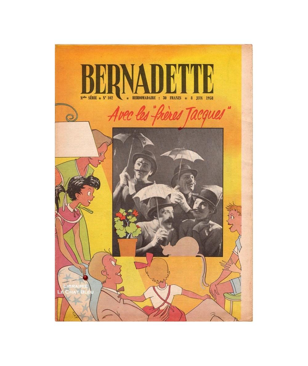 Bernadette N° 102 du 8 juin 1958 : Avec les frères Jacques