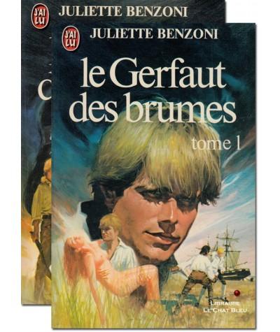 Le Gerfaut des brumes (Juliette Benzoni) - Editions J'ai lu