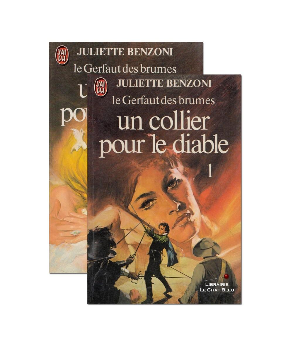 N° 1186 et 1187 - Un collier pour le diable (Juliette Benzoni) - Le Gerfaut des brumes