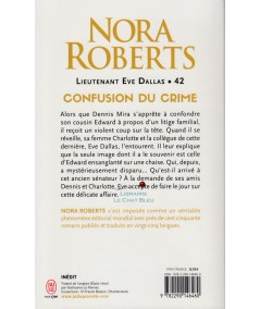 Lieutenant Eve Dallas T42 : Confusion du crime (Nora Roberts) - J'ai lu N° 11888