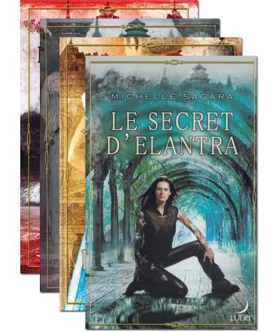 Le cycle d'Elantra (Michelle Sagara) - Livres Harlequin Luna