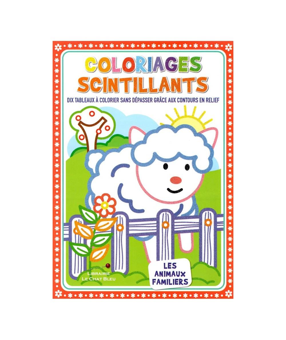 Coloriages scintillants : Les animaux familiers
