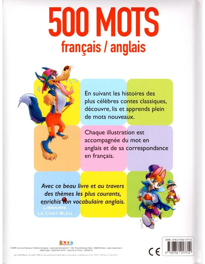 500 Mots Francais Anglais Illustres Par Les Contes Les