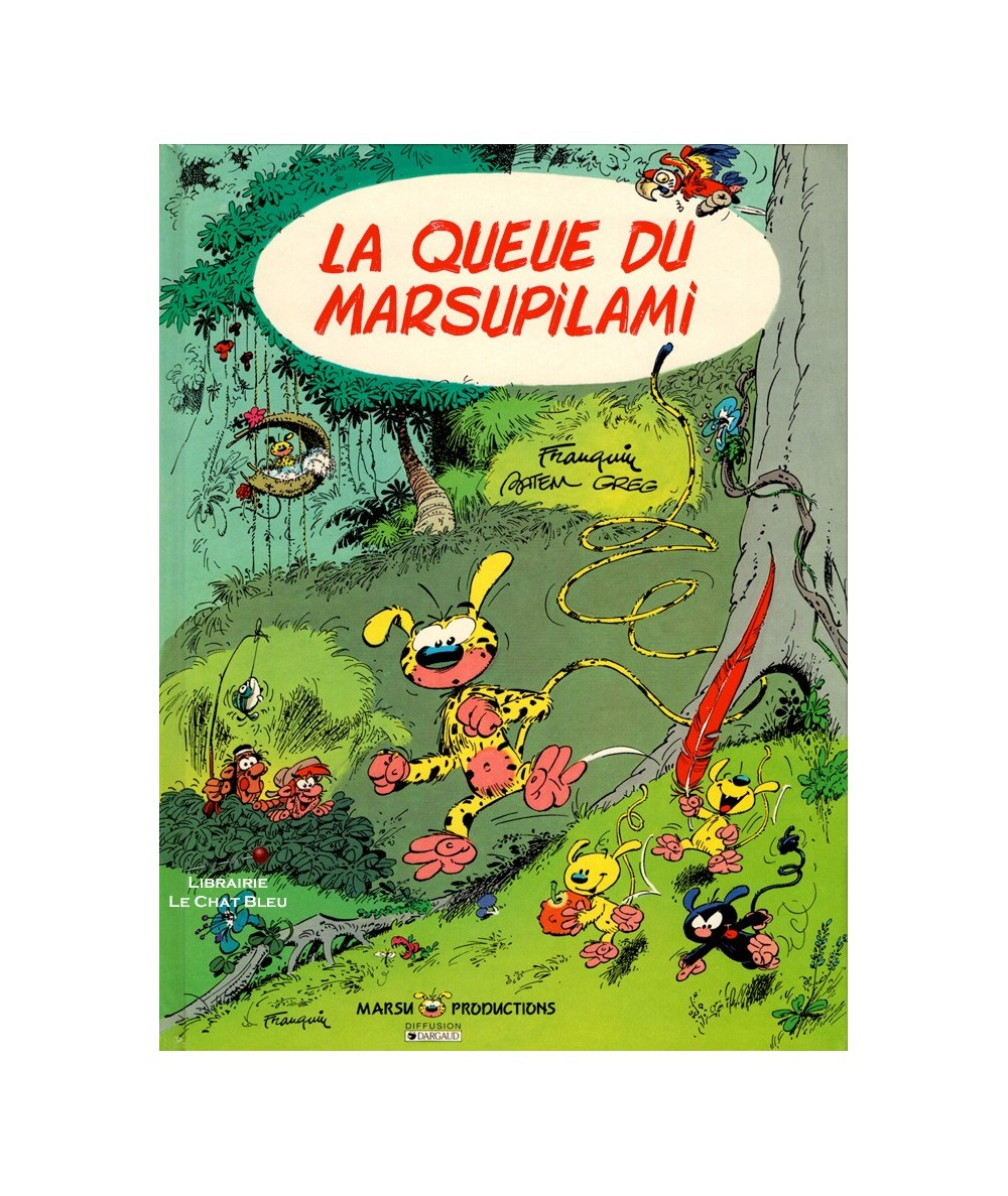 Marsupilami T1 : La queue du marsupilami (André Franquin, Batem et Greg)