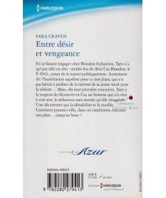 Entre désir et vengeance (Sara Craven) - Harlequin Azur N° 3359