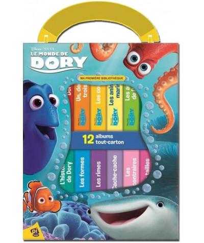 Le monde de Dory (Disney, Pixar) - Ma première bibliothèque : Coffret de 12 livres tout-carton