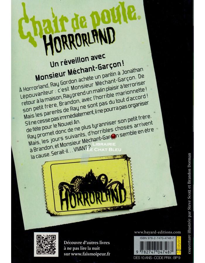 N 1 Monsieur Mechant Garcon Chair De Poule Horrorland