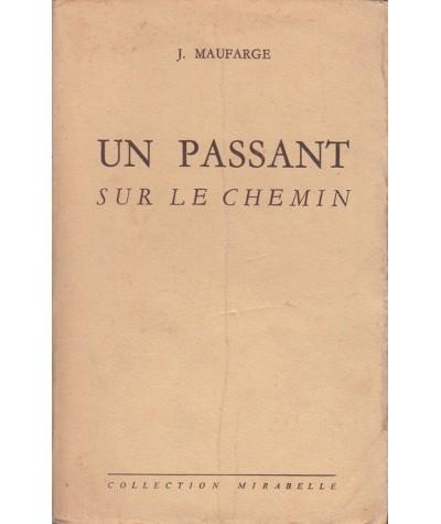 Un passant sur le chemin (Jean Maufarge) - Collection Mirabelle N° 45