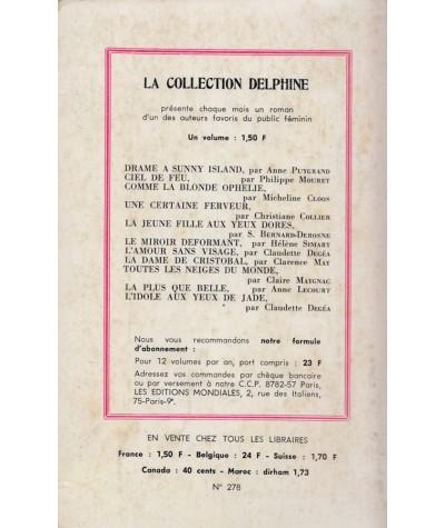 L'âge de Juliette (Christiane Collier) - Delphine N° 278