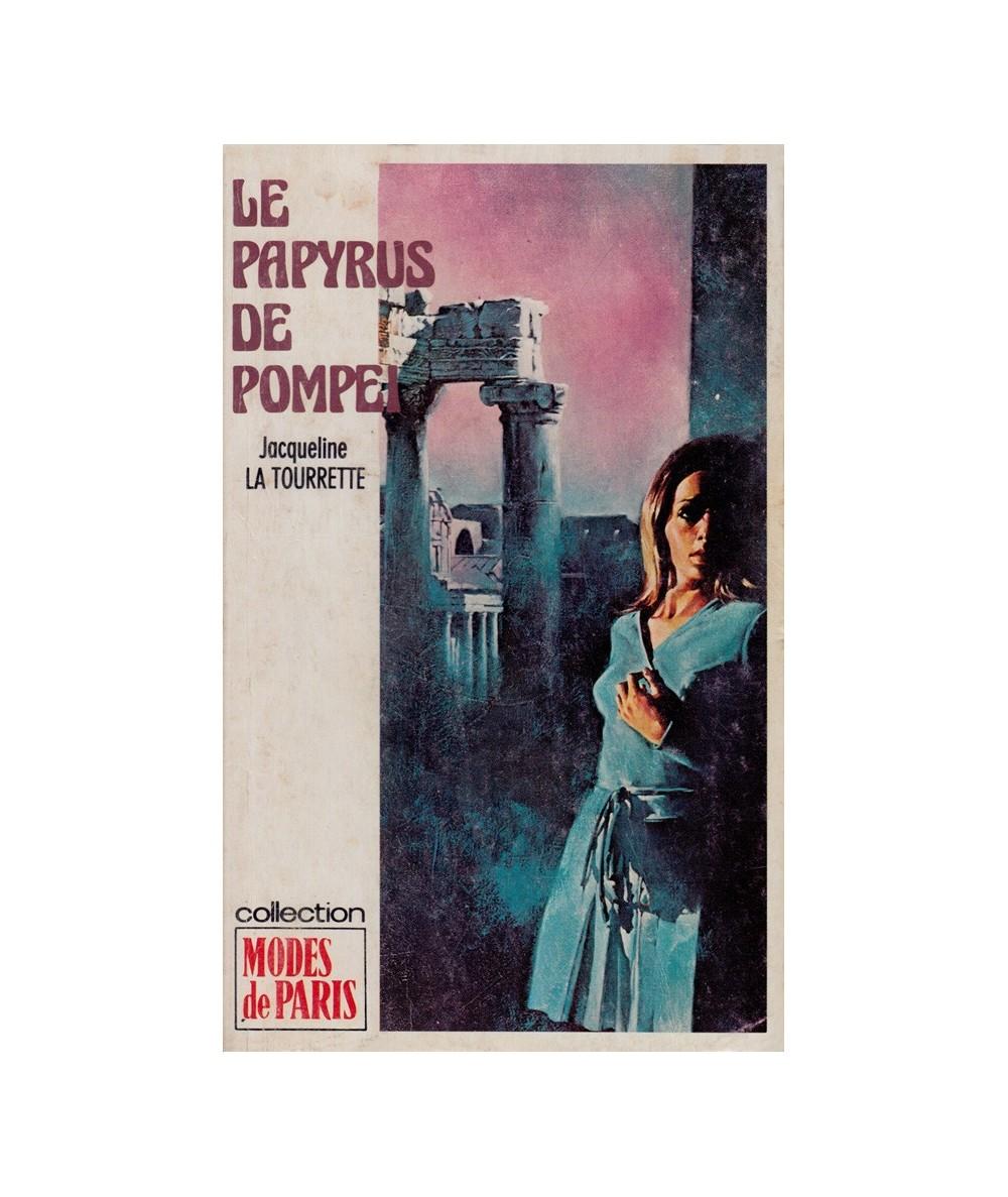 Le papyrus de Pompéi (Jacqueline La Tourrette) - Modes de Paris N° 100