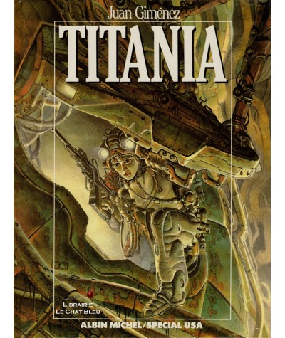 Titania (Juan Giménez) - BD Albin Michel