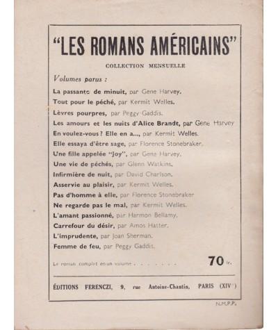 L'amour et la gloire (Anna Michel) - Le Petit Livre Ferenczi N° 1736