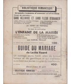 Son premier rêve (Anne-Claire) - Le Petit Livre Ferenczi N° 1859