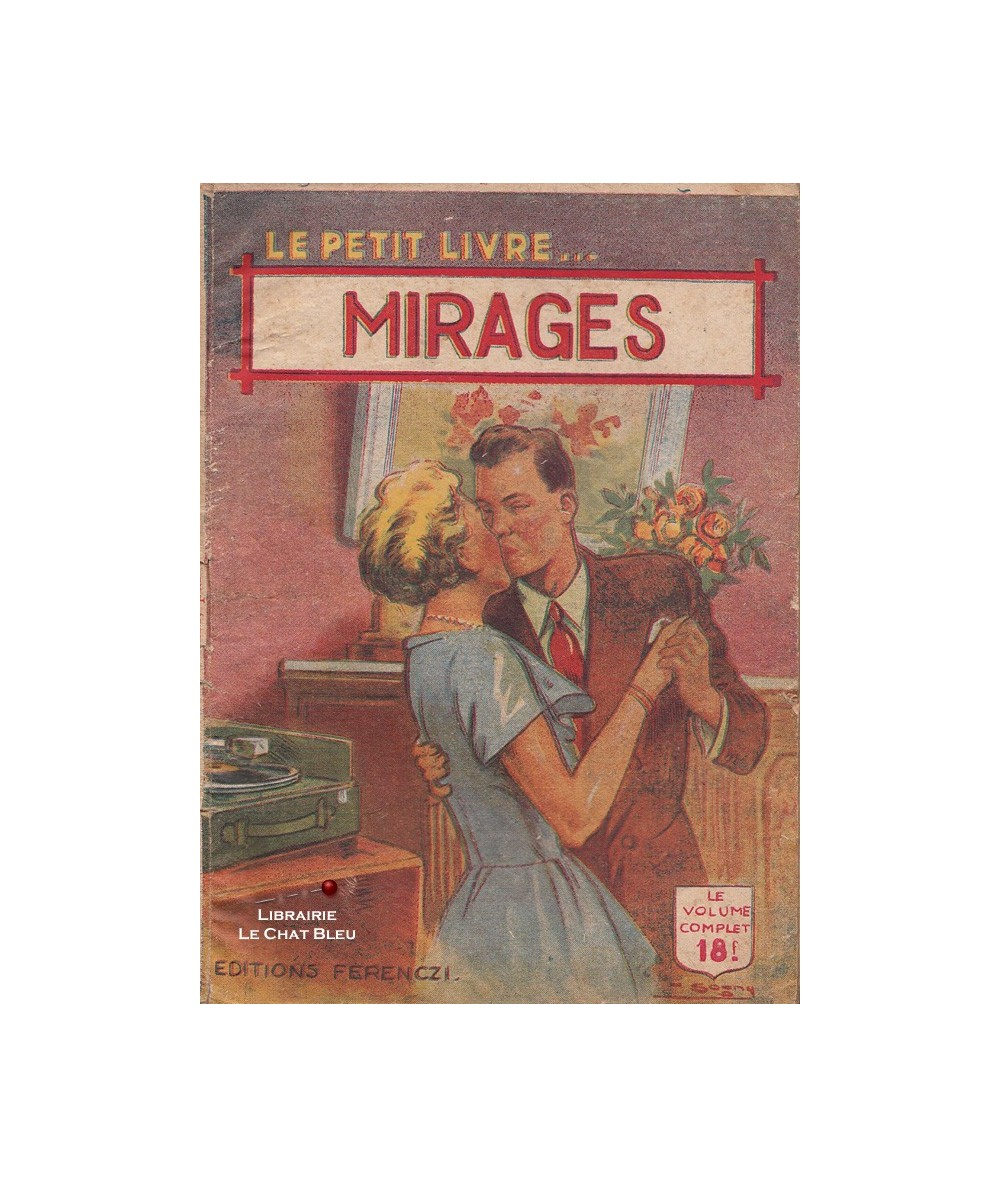 Mirages (Louis Delhat) - Le Petit Livre Ferenczi N° 1621