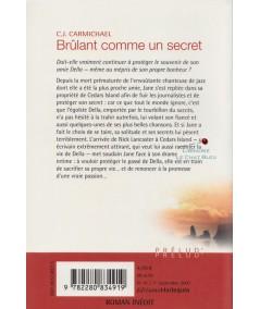 Brûlant comme un secret (C.J. Carmichael) - Harlequin Prélud N° 41