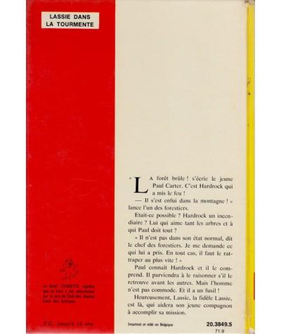 Lassie dans la tourmente (Suzanne Pairault) - Idéal-Bibliothèque