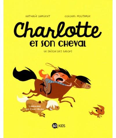 Charlotte et son cheval T2 : La saison des galops - BD Kids - Milan