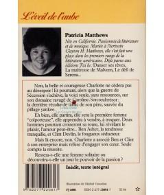 L'éveil de l'aube (Patricia Matthews) - J'ai lu N° 2081