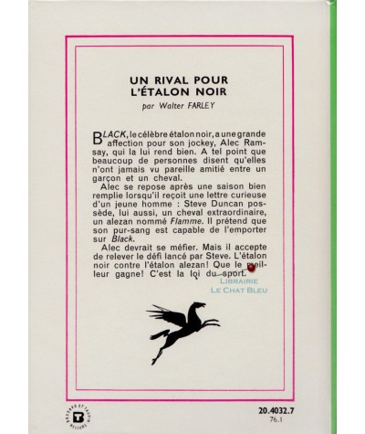 Un rival pour l'étalon noir (Walter Farley) - Bibliothèque verte