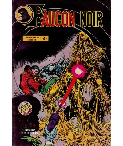 FAUCON NOIR N° 21 - Collection Flash - Aredit - BD petit format