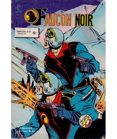 FAUCON NOIR N° 20 - Collection Flash - Aredit - BD petit format