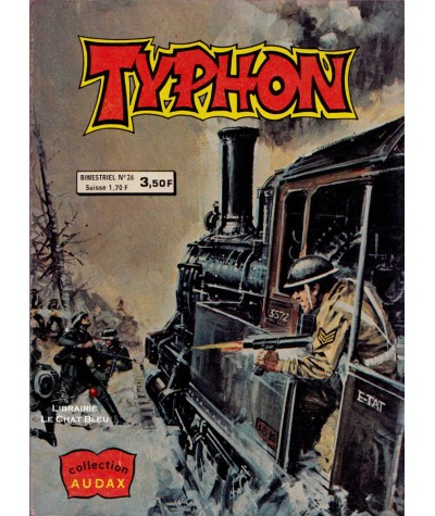 TYPHON N° 26 - Collection AUDAX - Aredit - BD petit format