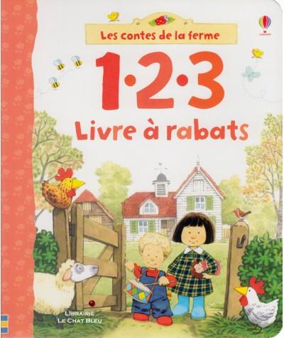 Les contes de la ferme : 1.2.3 Livre à rabats - Editions Usborne