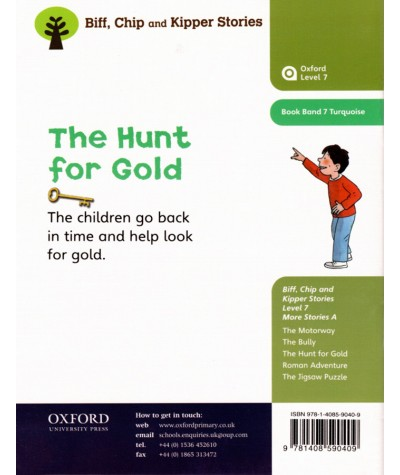 The Hunt for Gold (Roderick Hunt, Alex Brychta) - Oxford Reading Tree
