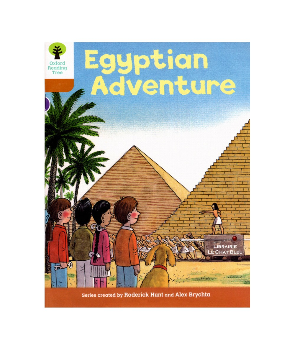Egyptian Adventure (Roderick Hunt, Alex Brychta) - Oxford Reading Tree