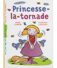 Princesse-la-tornade - Milan Poche Benjamin N° 6