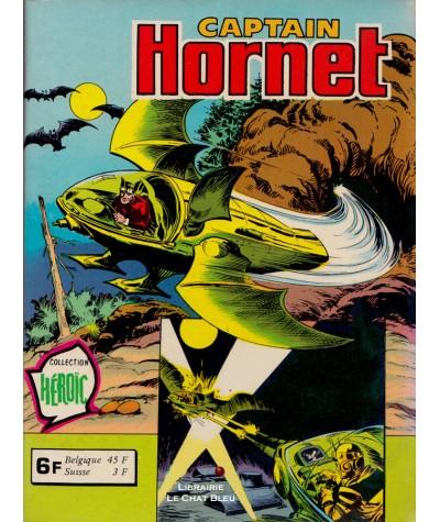 Captain HORNET Recueil N° 845 - Collection Héroïc - BD petit format Aredit