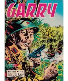 GARRY N° 345 : La Peur et les Larmes - BD petit format
