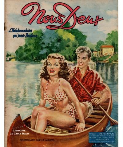 L'hebdomadaire Nous Deux n° 323 paru en 1953 : Promenade sur la Marne…