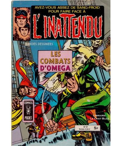 L'INATTENDU N° 21 : Les combats d'Omega - ARTIMA - BD petit format