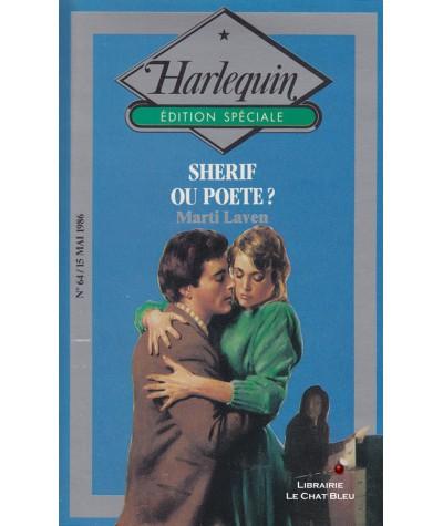 Shérif ou poète ? (Marti Laven) - Harlequin - Edition Spéciale N° 64