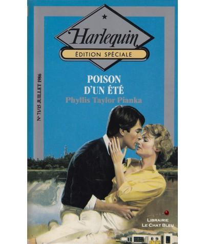 Poison d'un été (Phyllis Taylor Pianka) - Harlequin - Edition Spéciale N° 71