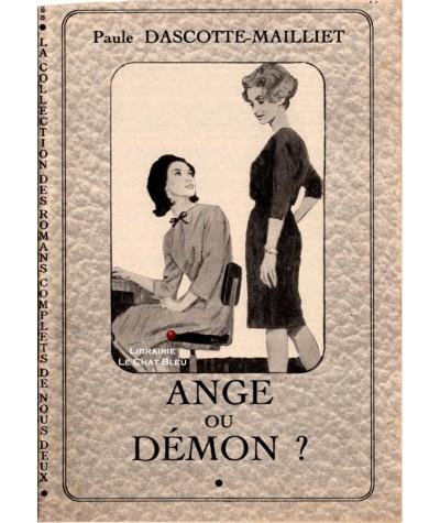 Ange ou Démon ? (Paule Dascotte-Mailliet)